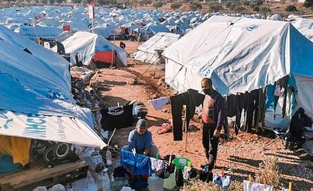 Z kryzysem migracyjnym Europa zmaga się od kilku lat. Na zdjęciu: obóz dla uchodźców na greckiej wys