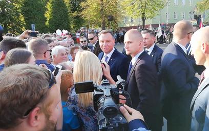 """""""Prezydencie, zamkną zakład, ludzie stracą pracę"""". Andrzej Duda: Otworzą następny"""