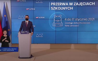 Premier Mateusz Morawiecki zapowiedział, że18 stycznia można spodziewać się nowej szczepionki przec