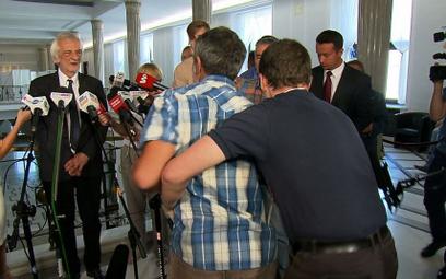 Szarpanina w Sejmie podczas konferencji Terleckiego