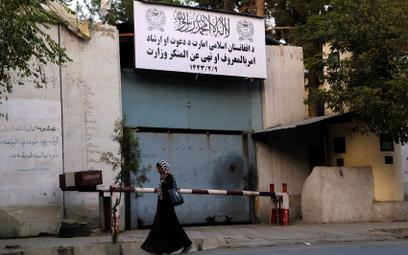 Siedziba dawnego Ministerstwa ds. Kobiet, przemianowanego przez talibów na resort promowania cnót i