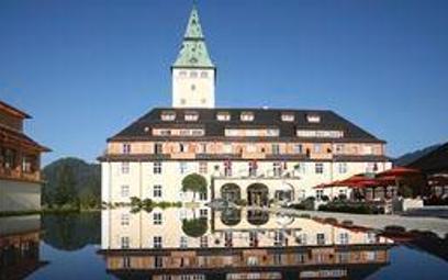 Zamek Elmau w Alpach Bawarskich, tu spotkają się 7-8 czerwca przywódcy krajów G-7