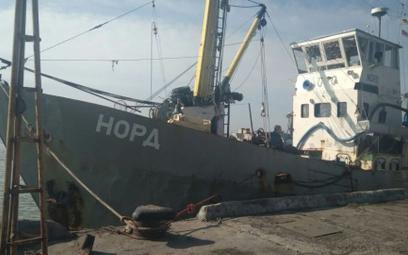 """Zatrzymany krymski statek """"Nord"""""""