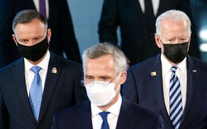 O czym prezydenci Duda i Biden rozmawiali na szczycie NATO?