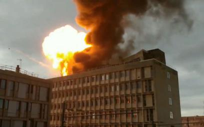 Francja: Ogromny wybuch na terenie kampusu w Lyonie