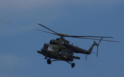 Wielozadaniowy śmigłowiec transportowy Mi-17. Fot./Łukasz Pacholski.