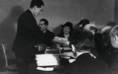 Jan Ekier jako uczestnik Konkursu Chopinowskiego (1937 rok)