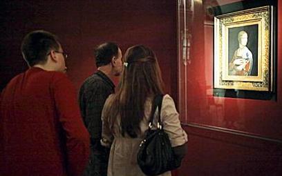 """Dama z gronostajem"" Leonarda da Vinci wystawiana"