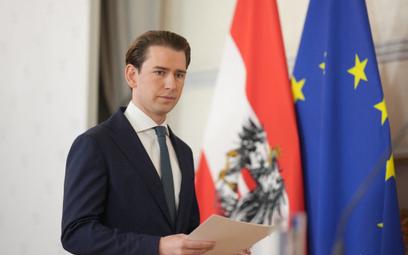 Kanclerz Austrii Sebastian Kurz ustępuje ze stanowiska