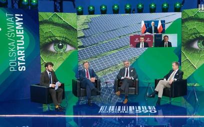 Podczas debaty mowa była m.in. o podejściu instytucji finansowych do oceny zielonych projektów