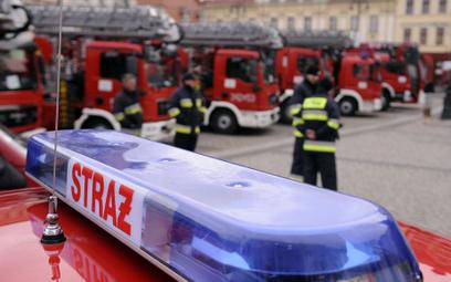 Kraków: Złodzieje próbowali okraść strażaków walczących z powodzią