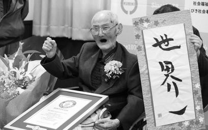 Nie żyje najstarszy mężczyzna na świecie. Japończyk miał 112 lat