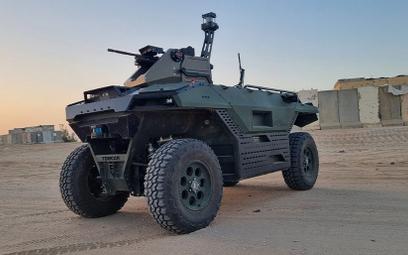 Armia Izraela stawia na elektryczną amfibię. Oszczędzi żołnierzy