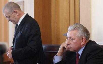 Lepper i Łyżwiński podczas jednej z rozpraw. Na ogłoszenie wyroku się nie pofatygowali