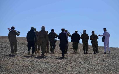 Członkowie Narodowych Sił Oporu wiernych Masudowi