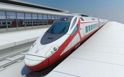 Wizualizacja Pendolino dla Polski Alstom Transport