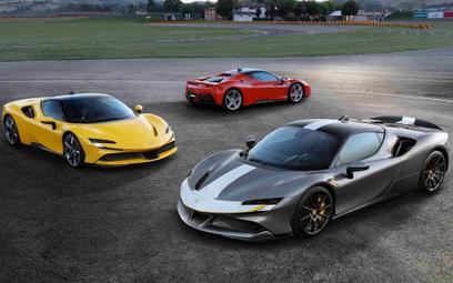 Ferrari sprzedaje więcej aut niż przed pandemią