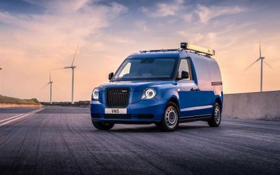 LEVC VN5: Elektryczny van na bazie londyńskiej taksówki