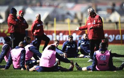 Marcello Lippi wśród piłkarzy reprezentacji Włoch
