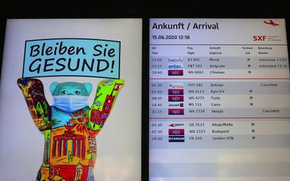 Nowe zasady epidemiczne na niemieckich lotniskach