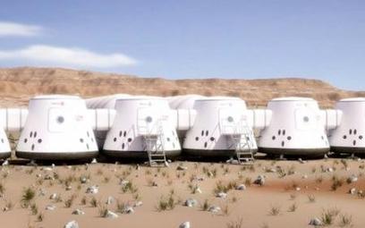 Tak miałaby wyglądać pomieszczenie mieszkalne - tu projekt habitatu jeszcze na Ziemi