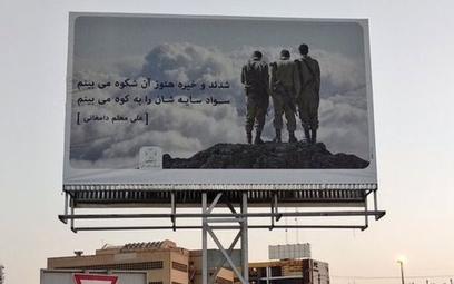 Iran upamiętnia wojnę z Irakiem zdjęciem żołnierzy Izraela