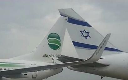 Izrael – samoloty uszkodzone w czasie kołowania