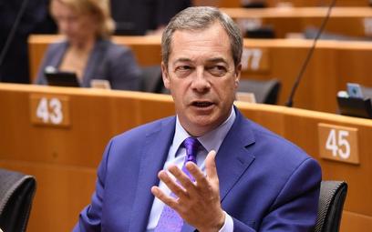 Nigel Farage poparł Marine Le Pen