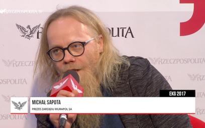 Michał Sapota: Murapol zaczyna ekspansję za granicą
