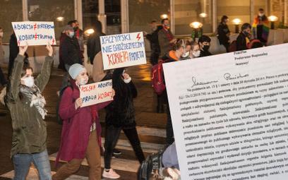 Spór o aborcję: Organizujący protesty będą ścigani, grozi im nawet 12 lat pozbawienia wolności