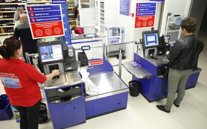 Cashback przy kasie samoobsługowej to w Polsce problem