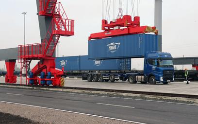 Rosjanie rozbudowali kolejowy terminal w Kaliningradzie