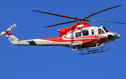 Śmigłowiec Bell 412EPI jednej z japońskich służb ratowniczych. Fot./Bell.