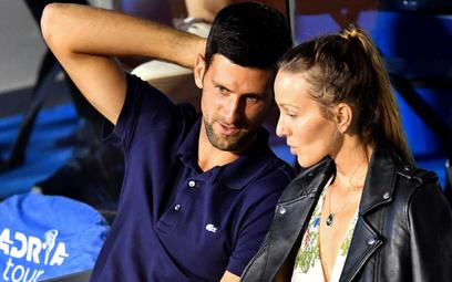 Djokovic i jego małżonka pokonali koronawirusa