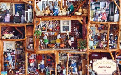Miniaturowy mysi domek Kariny Schaapman to cudo