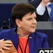 Beata Szydło w Parlamencie Europejskim 3 lipca