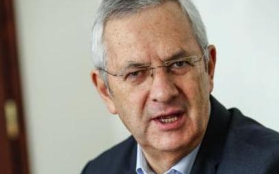 Prezes Polskiego Związku Motorowego Andrzej Witkowski