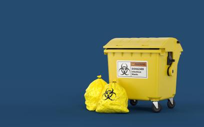 Koronawirus: śmieci z kwarantanny powinny trafiać do odrębnego worka
