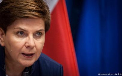 """Premier Szydło w """"Bildzie"""" o nierównym traktowaniu w UE"""