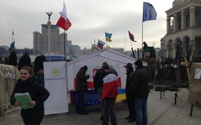 Na Majdanie rozpoczęła się długoterminowa misja Fundacji Otwarty Dialog.
