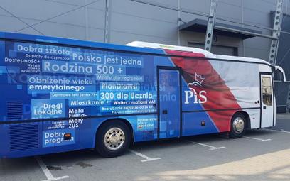 PiS startuje z kampanijnym busem