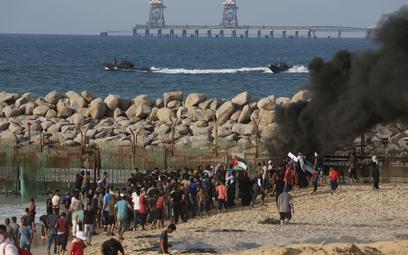 Krwawy piątek na granicy Strefy Gazy: Są zabici, 140 rannych