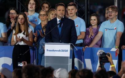 Trzaskowski: Zwyciężymy. Władza, która nas dzieli, odejdzie