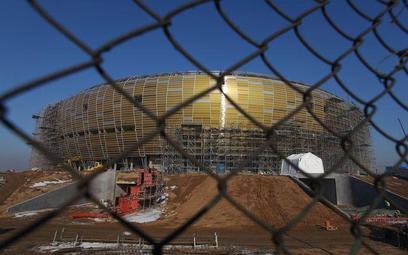 PGE Arena w Gdańsku. Zdjęcie z marca 2011