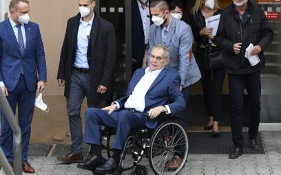 Prezydent Czech wypisany ze szpitala. Nadal nie jest jasne, dlaczego tam trafił