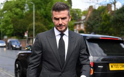 David Beckham stracił prawo jazdy za korzystanie z telefonu podczas jazdy