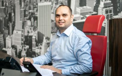 Marcin Białożyt, prezes Senetica, zbudował świetnie prosperujący biznes IT w czasach, gdy inni bankr