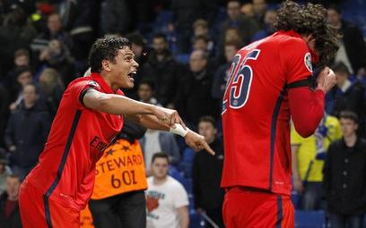 Thiago Silva, jeden z bohaterów meczu w Londynie