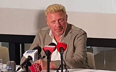 Boris Becker w Warszawie