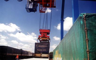Kontenery z Chin ratują PKP Cargo